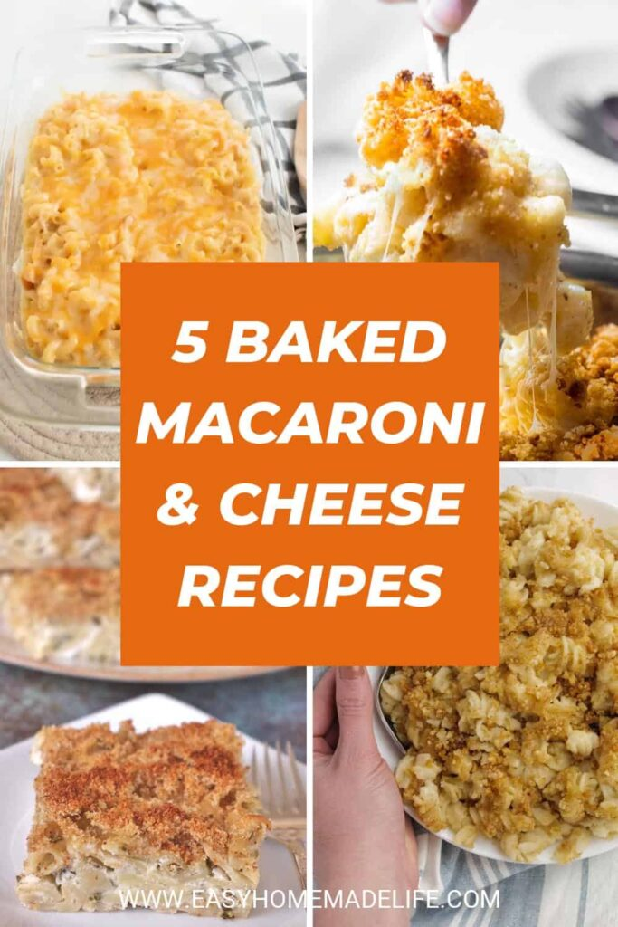 Creamy Baked Mac and Cheese Recipes