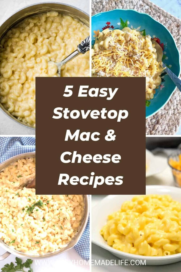Easy Stovetop Mac and Cheese Recipes
