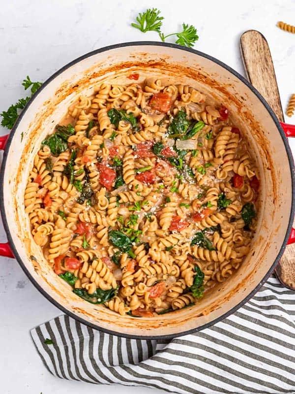creamy one pot pasta recipe