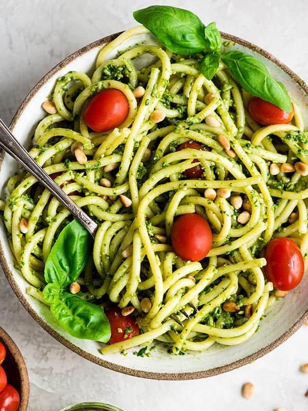 easy pesto pasta recipe