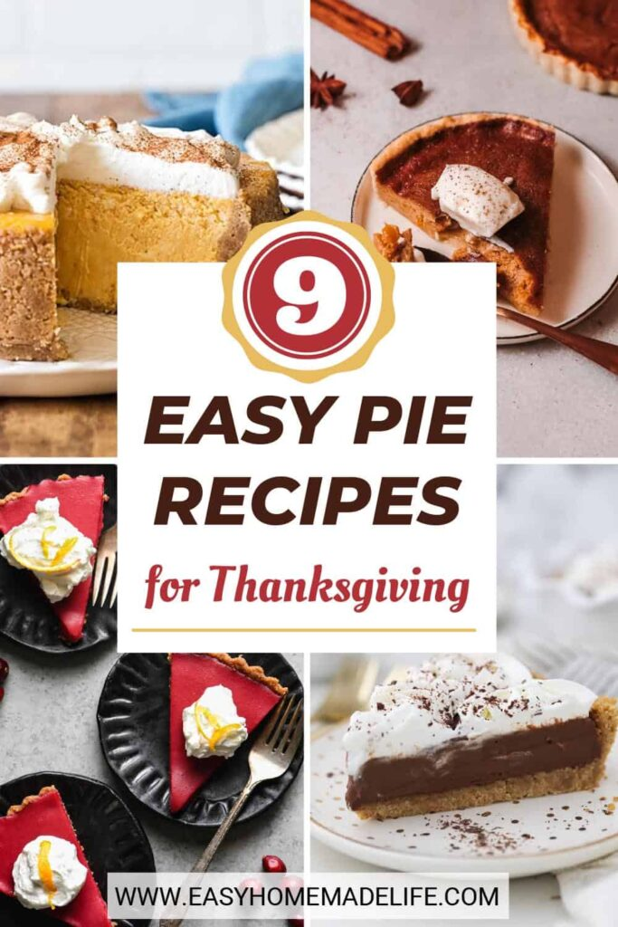 Ready to wow your dinner guests with these easy Thanksgiving pies? From chocolate pudding pie to traditional pumpkin pie, there are many flavors to choose. Make them mini or full-size, bake them in the oven, or chill a no-bake pie in the fridge. Whatever you like, there's a simple homemade version for you.